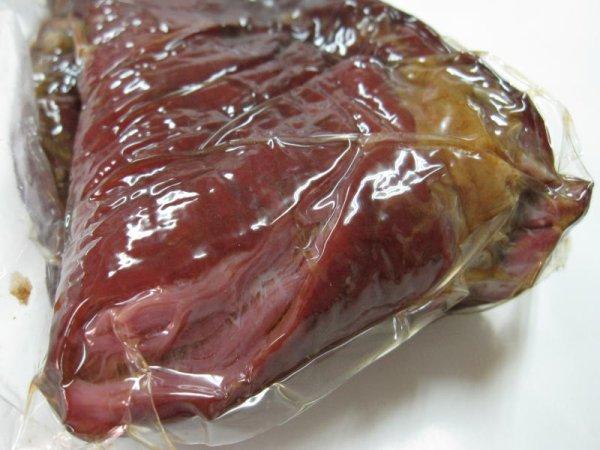 画像1: 【肉の匠 テラオカ】 特選 サイボシ 500g ...旨味凝縮!!馬肉の燻製 (1)